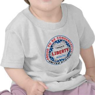 Proud Conservative Tee Shirts