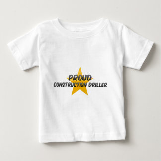 Proud Construction Driller Tee Shirts