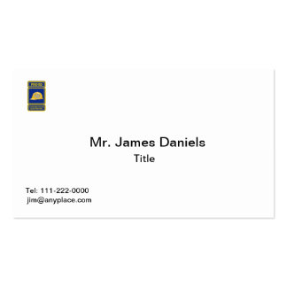 Proud Construction Electrician Double-Sided Standard Business Cards (Pack Of 100)