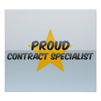 Proud Contract Specialist Print