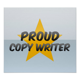 Proud Copy Writer Poster