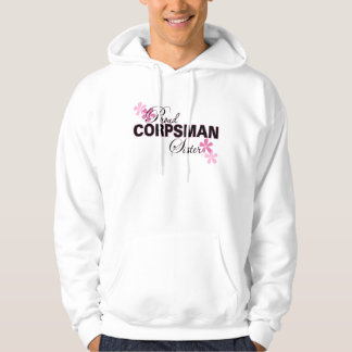 Proud Corpsman Sister Hooded Pullover