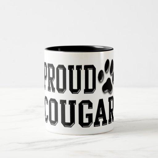 Proud Cougar Coffee Mugs