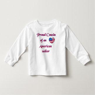 Proud-Cousin-Sailor-Navy-A-transp Toddler T-shirt