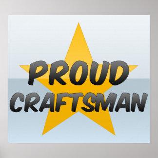 Proud Craftsman Poster