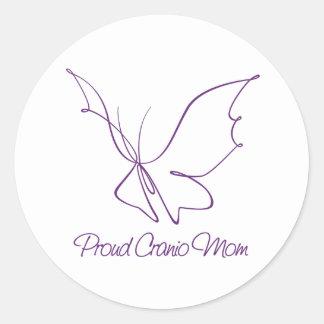 Proud Cranio Mom Sticker
