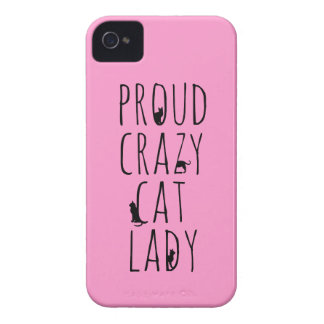 Proud Crazy Cat Lady iPhone 4 Covers