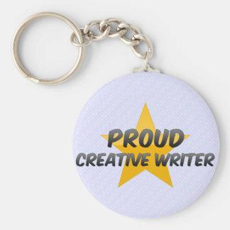 Proud Creative Writer Key Chains