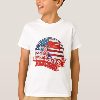 Proud Croatian American T-Shirt