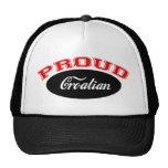 Proud Croatian Trucker Hats