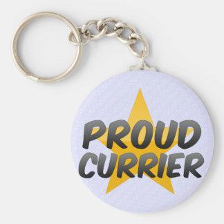 Proud Currier Keychain