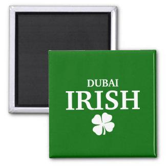 Proud Custom Dubai Irish City T-Shirt 2 Inch Square Magnet