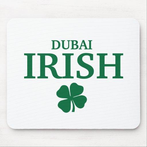 Proud Custom Dubai Irish City T-Shirt Mouse Pad