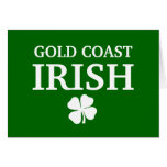 Proud Custom Gold Coast Irish City T-Shirt Cards