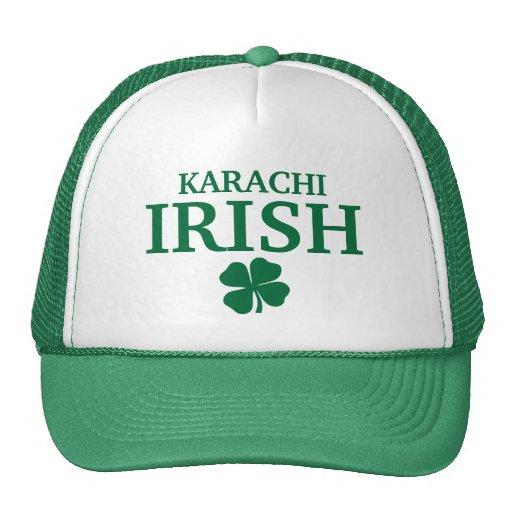 Proud Custom Karachi Irish City T-Shirt Trucker Hat