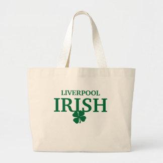 Proud Custom Liverpool Irish City T-Shirt Jumbo Tote Bag