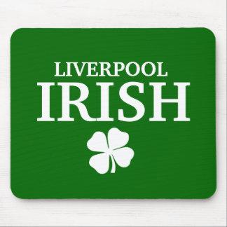 Proud Custom Liverpool Irish City T-Shirt Mouse Pad
