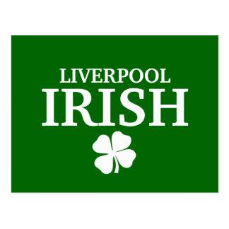 Proud Custom Liverpool Irish City T-Shirt Postcard