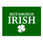 Proud Custom Matamoros Irish City T-Shirt Post Cards