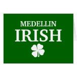 Proud Custom Medellin Irish City T-Shirt Cards