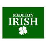 Proud Custom Medellin Irish City T-Shirt Postcards