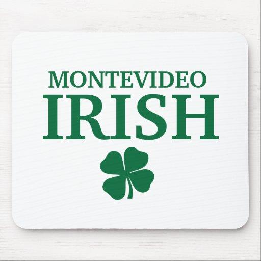 Proud Custom Montevideo Irish City T-Shirt Mouse Pad