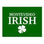 Proud Custom Montevideo Irish City T-Shirt Postcard