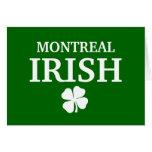 Proud Custom Montreal Irish City T-Shirt Cards