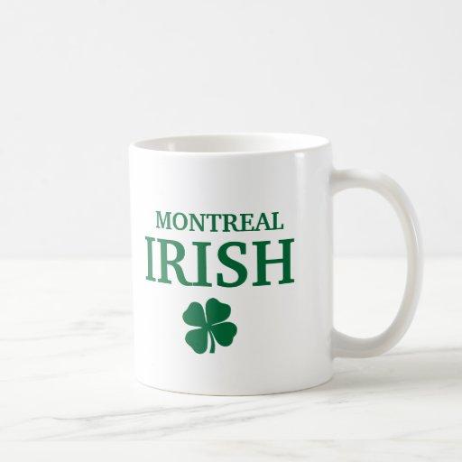 Proud Custom Montreal Irish City T-Shirt Classic White Coffee Mug