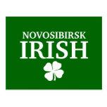 Proud Custom Novosibirsk Irish City T-Shirt Postcard