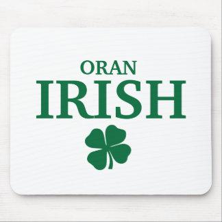 Proud Custom Oran Irish City T-Shirt Mouse Pad