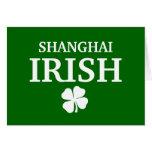 Proud Custom Shanghai Irish City T-Shirt Card