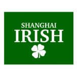 Proud Custom Shanghai Irish City T-Shirt Post Card