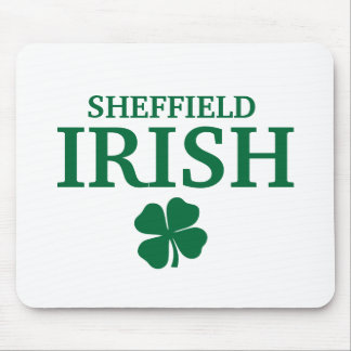 Proud Custom Sheffield Irish City T-Shirt Mouse Pad