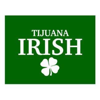 Proud Custom Tijuana Irish City T-Shirt Postcard