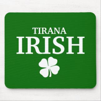 Proud Custom Tirana Irish City T-Shirt Mouse Pads