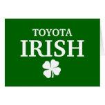 Proud Custom Toyota Irish City T-Shirt Cards