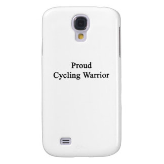 Proud Cycling Warrior Samsung Galaxy S4 Covers
