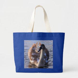 Proud Cygnet Tote Bags