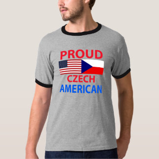 Proud Czech American T-Shirt