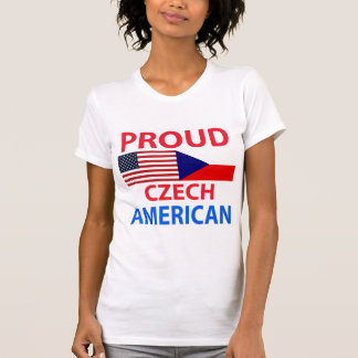 Proud Czech American Tee Shirts