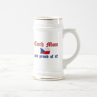 Proud Czech Mom Beer Stein
