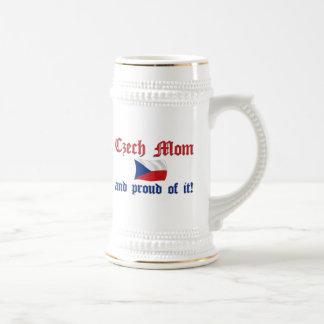 Proud Czech Mom Mugs