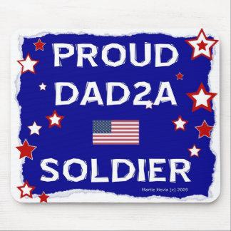 Proud DAD2A Soldier - Mousepad