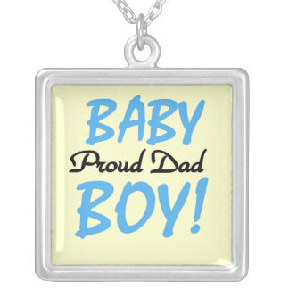 Proud Dad Baby Boy Gifts Pendant