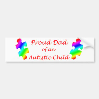 Proud Dad Bumper Sticker