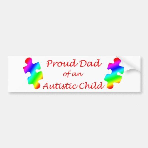 Proud Dad Bumper Sticker