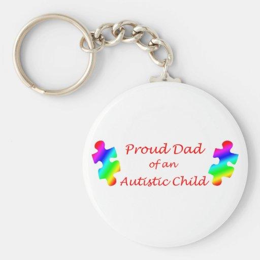 Proud Dad Keychain