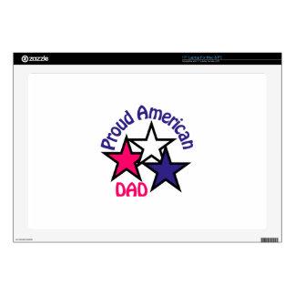 Proud Dad Laptop Decal