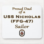 Proud Dad Mouse Pad